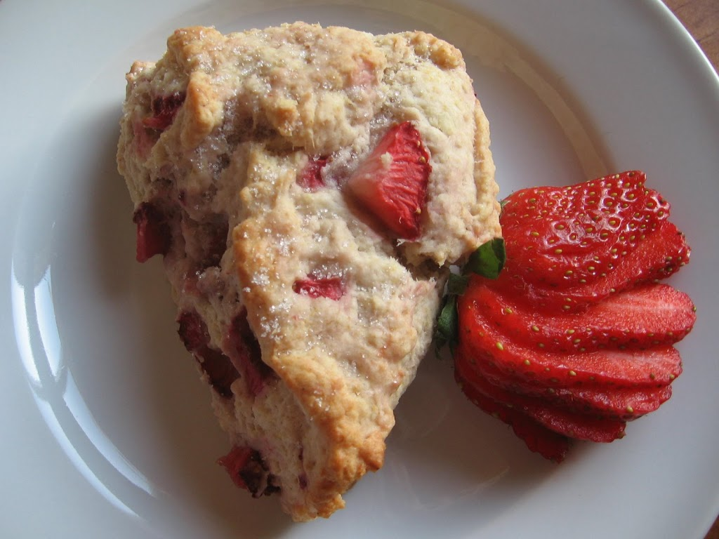 strawberry scones mother's day brunch