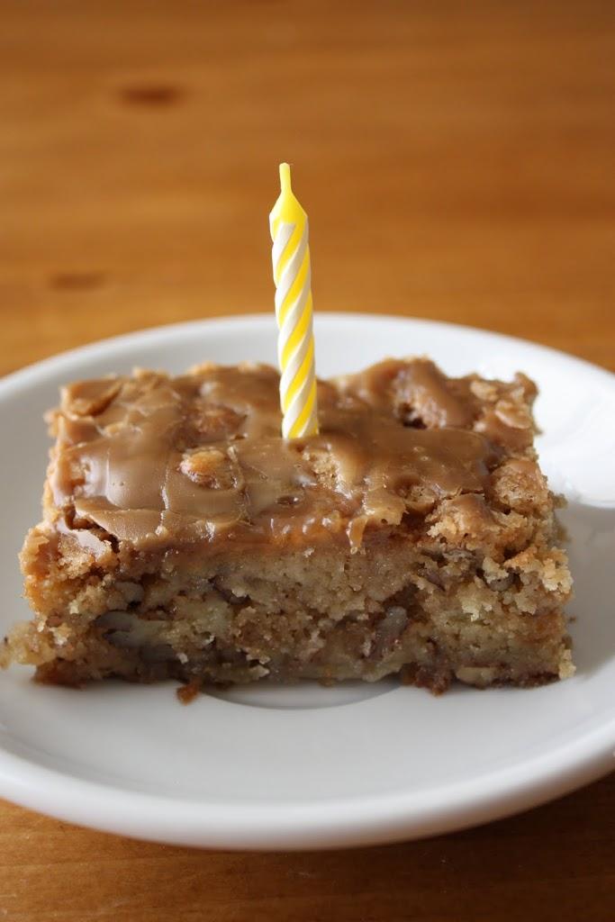 Apple Coffee Cake With Brown Sugar Glaze