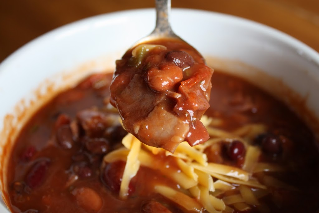 This hearty 3-bean soup is a perfect easy dinner to make on chilly nights.