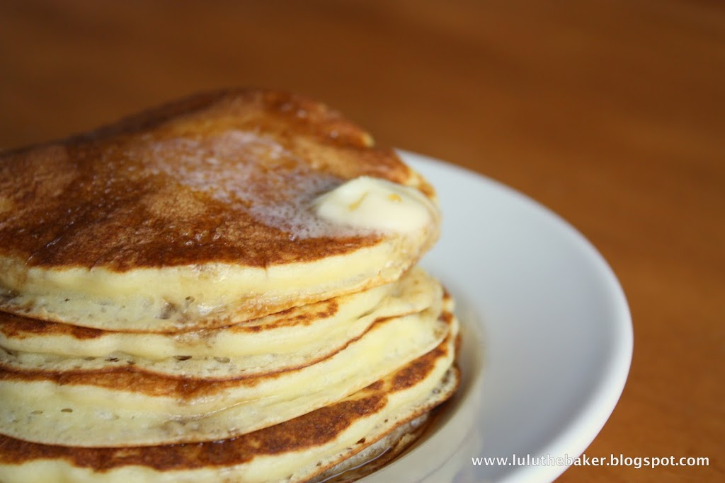 These homemade buttermilk pancakes are so easy to make, and guaranteed to be the tastiest homemade pancakes you've ever tasted!