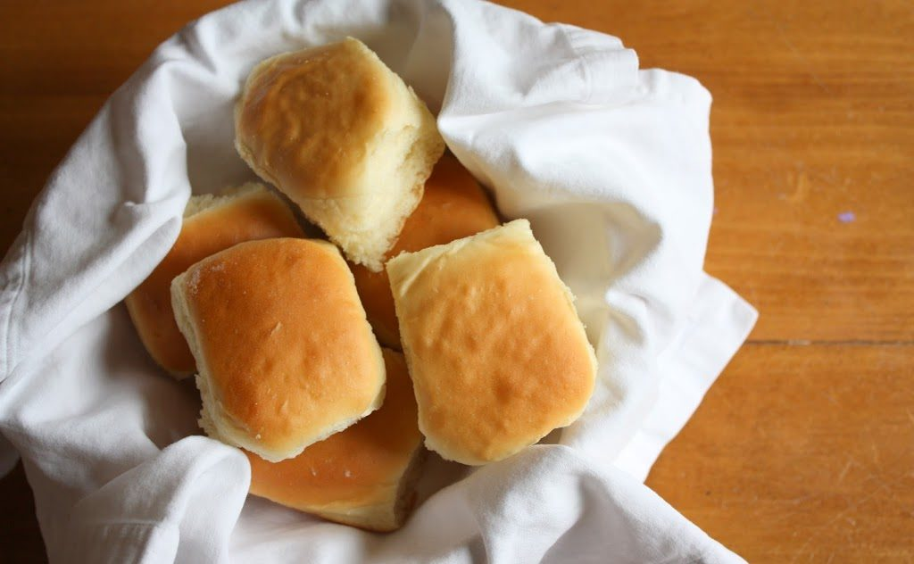 My mother-in-law's homemade rolls are our favorite!!