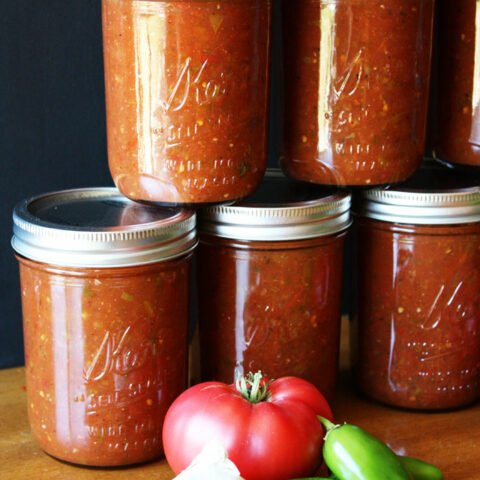 This is the perfect recipe for salsa for canning