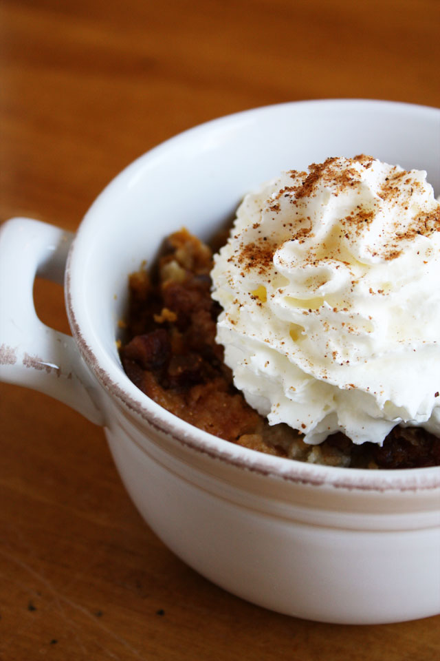 an easy fall dessert made with pumpkin pie filling topped with a yummy yellow cake crumble
