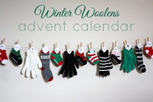winter woolens advent calendar
