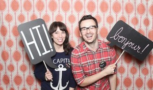faux chalkboard photobooth signs 1