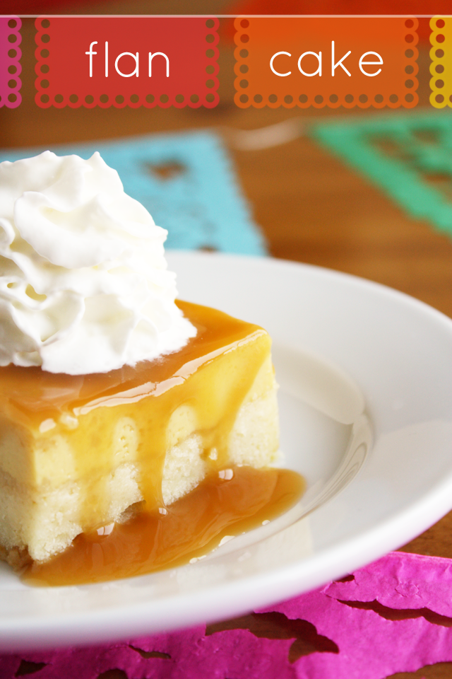 Flan Cake is easy and so delicious! A combination of cake, flan, and caramel sauce all in one pan!