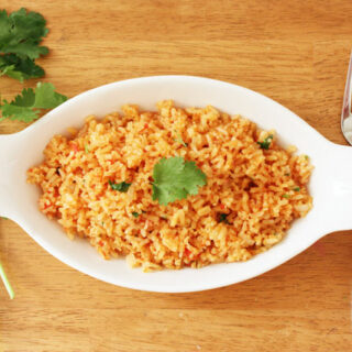 This is our go-to spanish rice recipe! It produces delicious, fluffy rice every time.