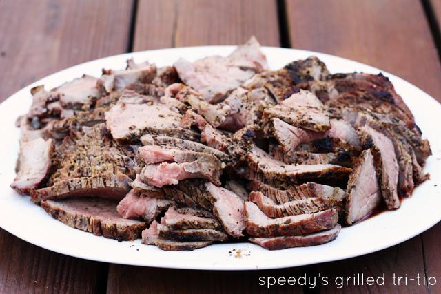 Santa Maria-style California BBQ featuring grilled tri-tip