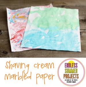 shaving-cream-marbled-paper