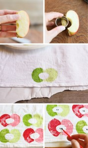 apple-stamped-tea-towel-collage