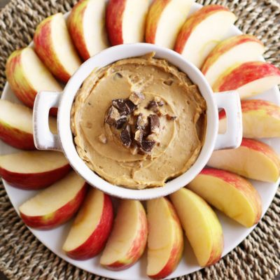 candy bar caramel apple dip