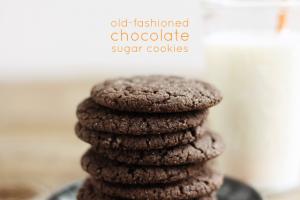 chocolate-sugar-cookies