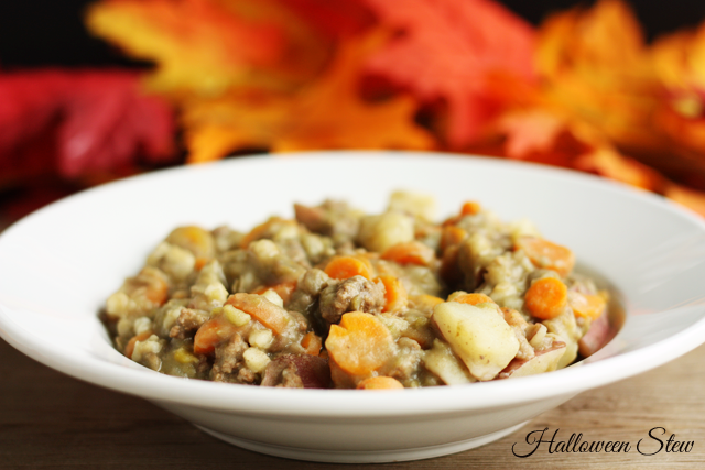 Make this hearty and delicious stew to keep your trick-or-treaters warm and cozy!
