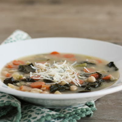 This delicious soup is perfect for Fall and Winter weather. It's filling without being too heavy!
