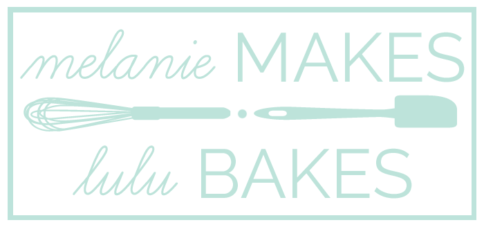 A fun collaboration between Melanie of Melanie Makes and Melissa of Lulu the Baker