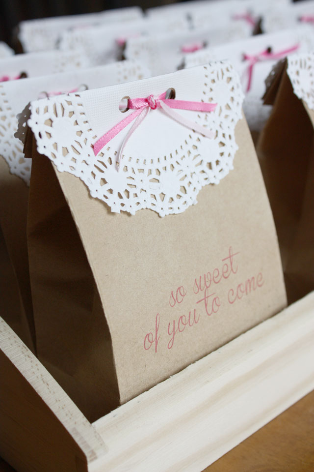 So Sweet Favor Bags Lulu The Baker
