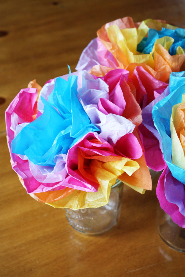 Mexican tissue paper flowers lulu the baker mightylinksfo