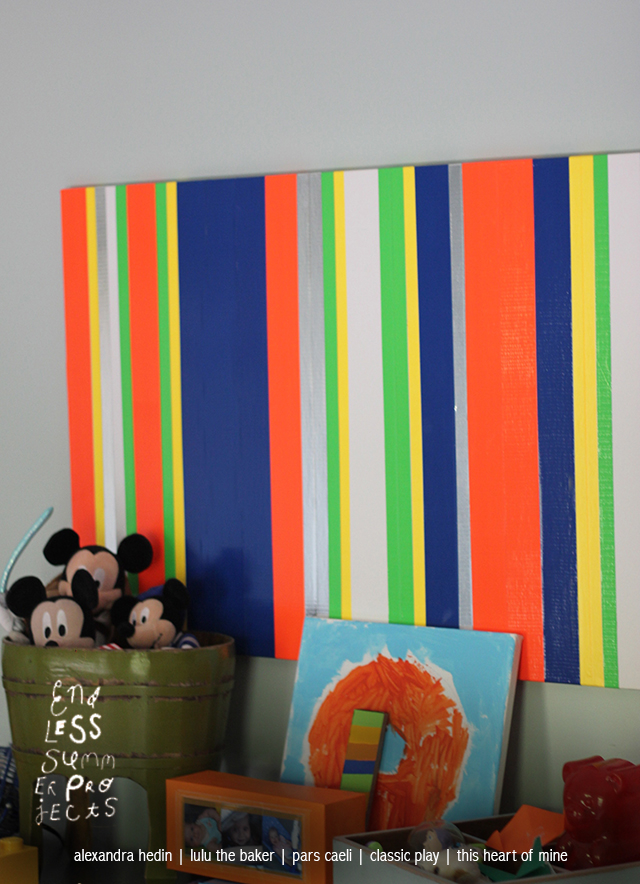 large scale art canvas tape