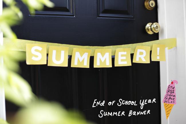 printable summer banner