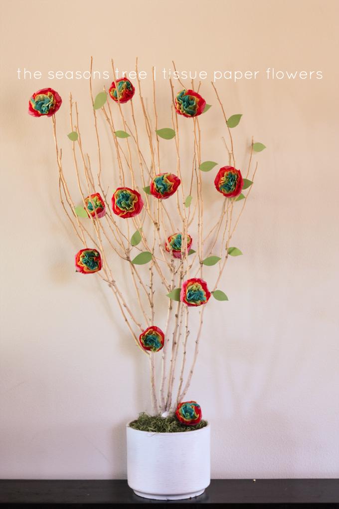 seasons-tree-tissue-paper-flowers