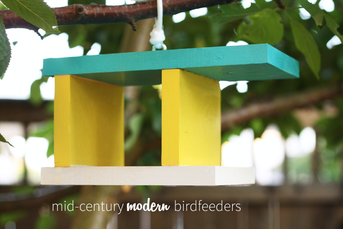 Endless Summer Projects | Mid-Century Modern Birdfeeders - Lulu the ...