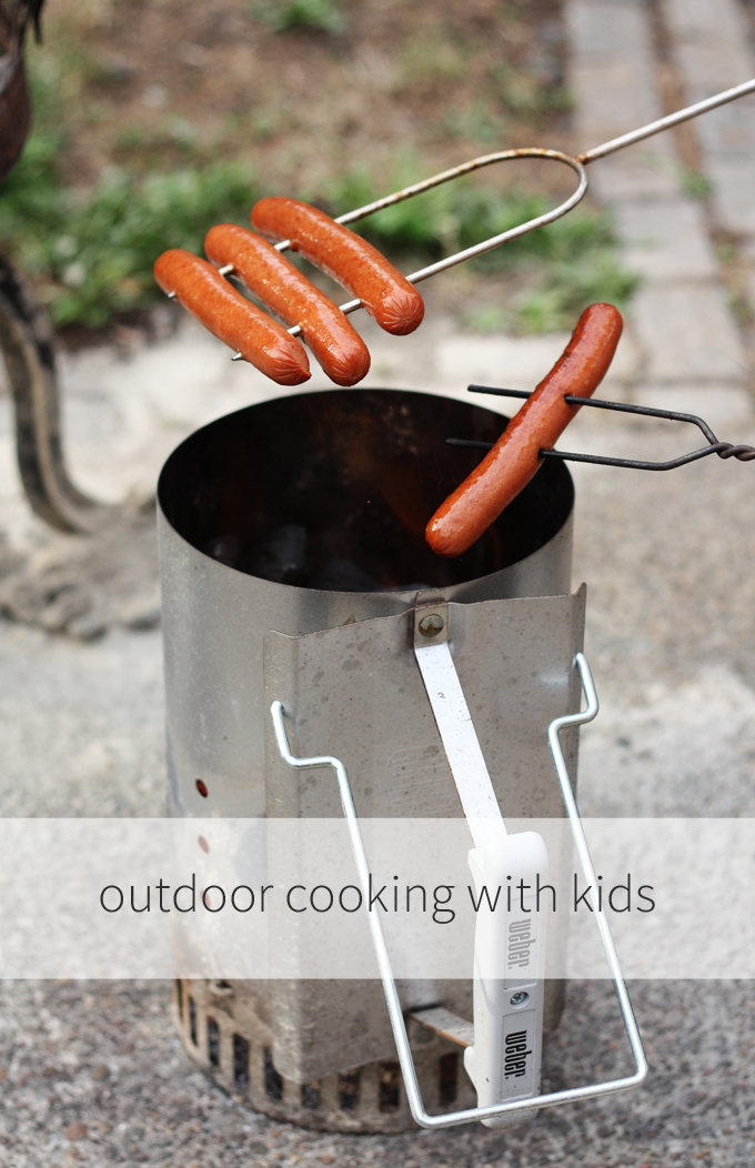 camping weenie roast hot dogs endless summer projects