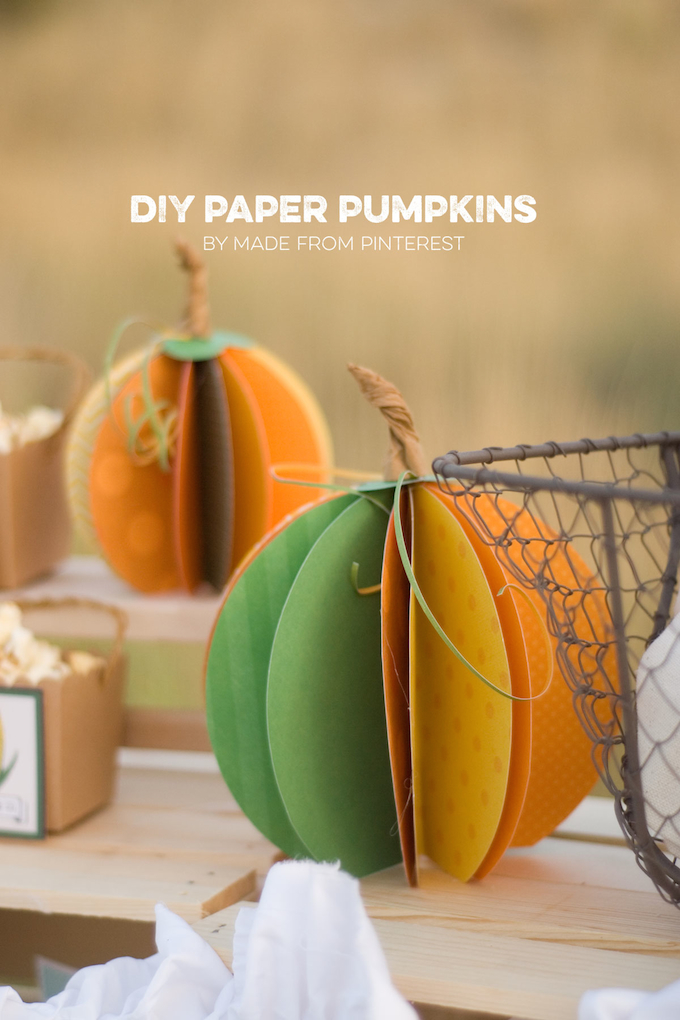 harvest fall autumn party decor craft