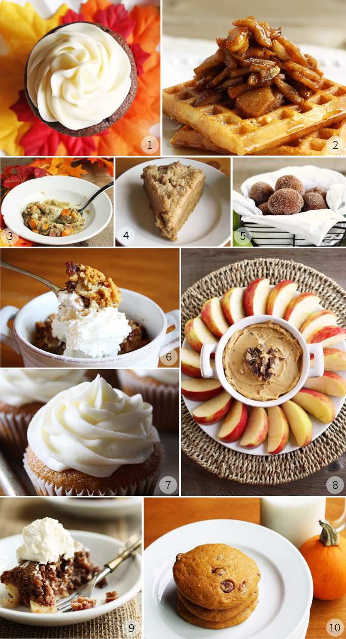 pumpkin apple recipe favorites for Fall