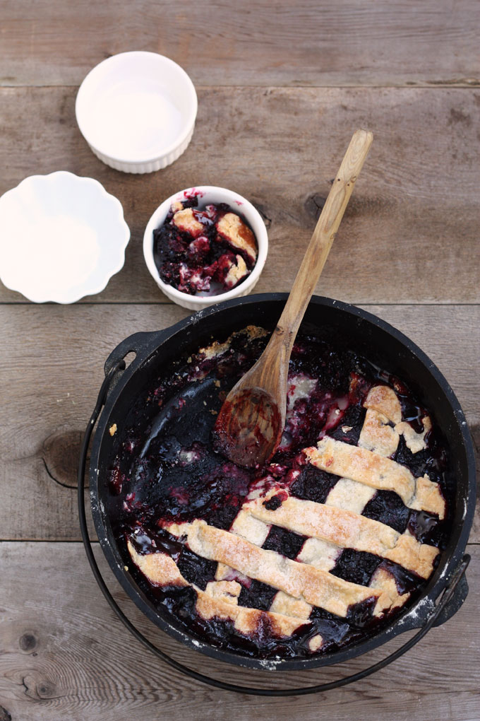 summer fruit desserts pie blackberry