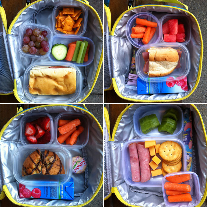 elementary school lunches