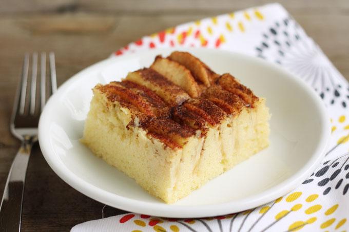 Fresh Apple Coffee Cake ~ Lulu the Baker