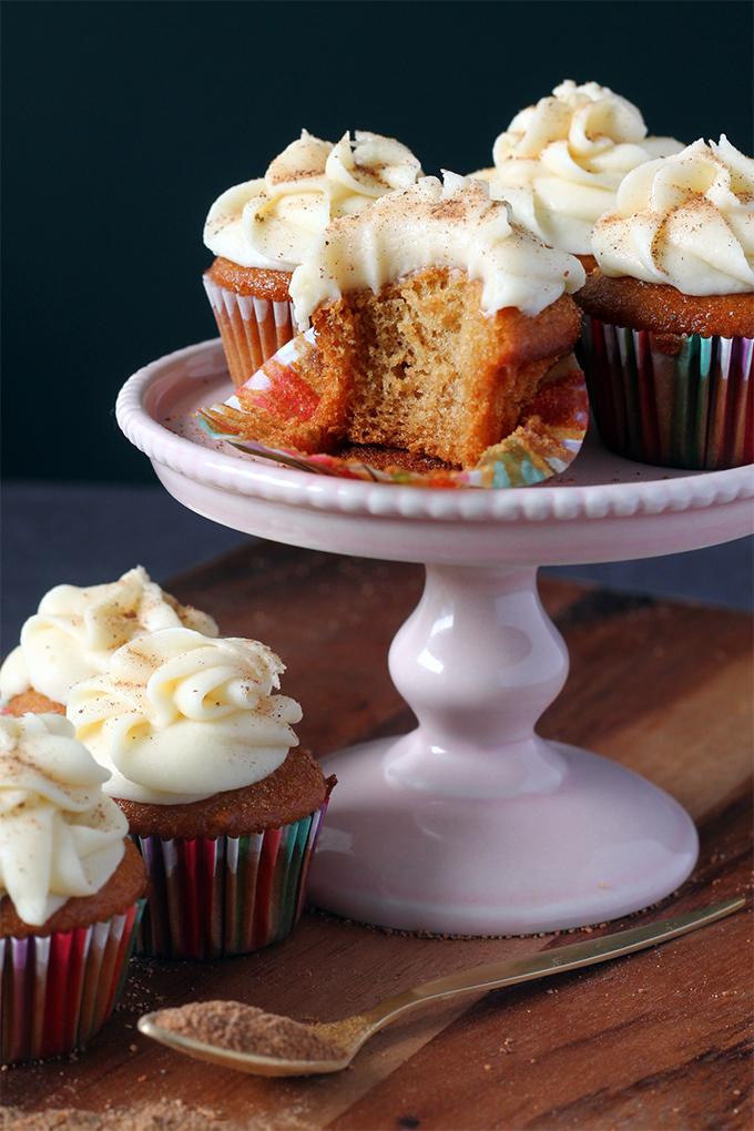 christmas eggnog cupcakes eggnog buttercream