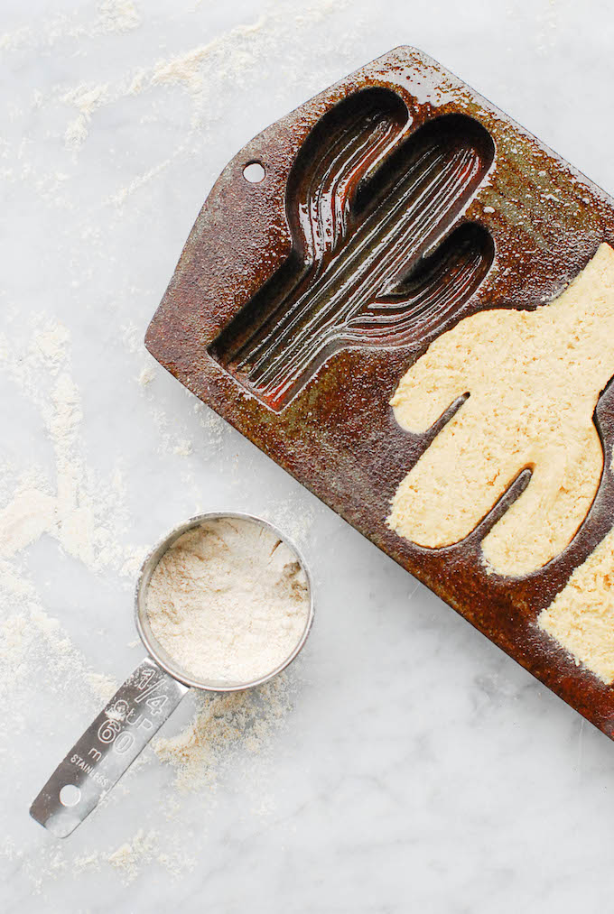 Use a vintage cast-iron mold to make cute shaped cookies!