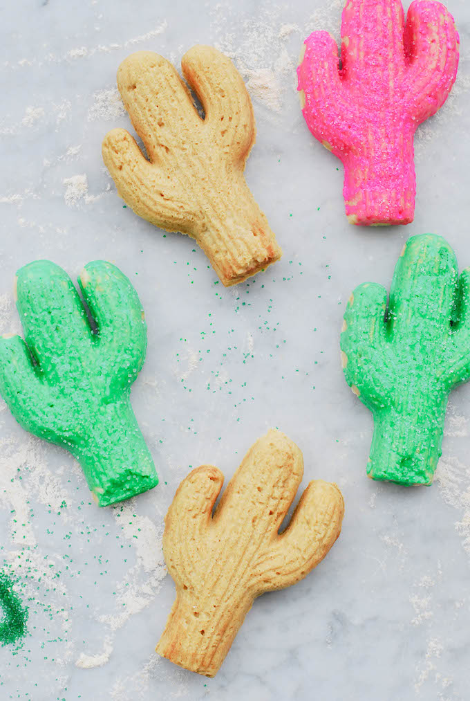 cast-iron sugar cookies