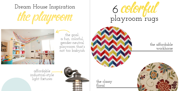 dream house style spotters playroom