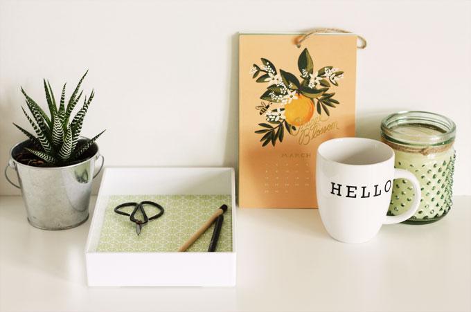desk tray tutorial office accessory