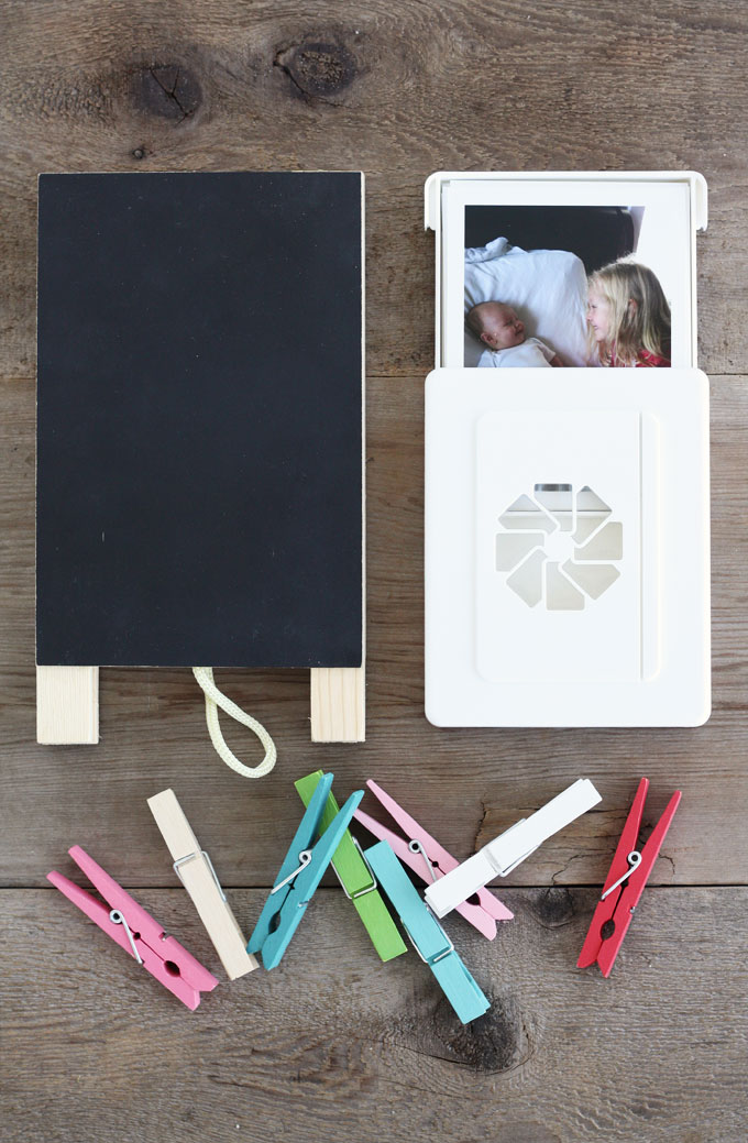 Diy Family Photo Display Click On Image To See More Home: DIY Family Photo Clip Board