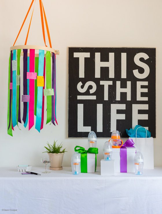 baby shower decor project