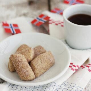 Norwegian Cinnamon Thumbs are buttery sweet scandinavian cookies