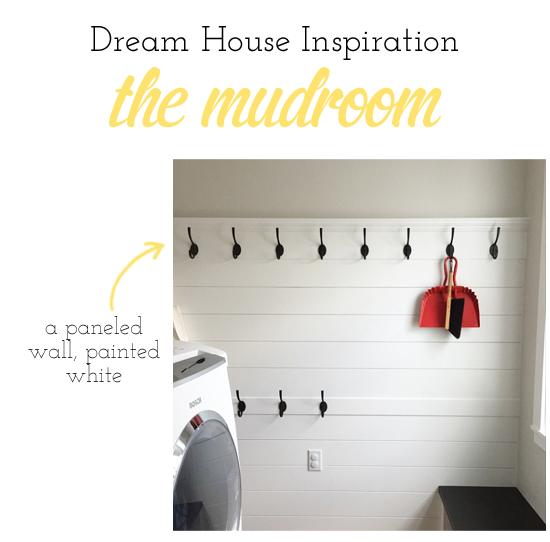Dream house update a mudroom inspiration board lulu the for Dream house inspiration