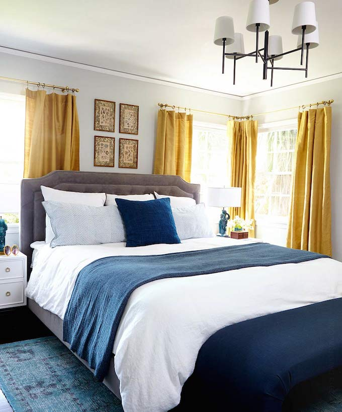 navy bedroom ideas