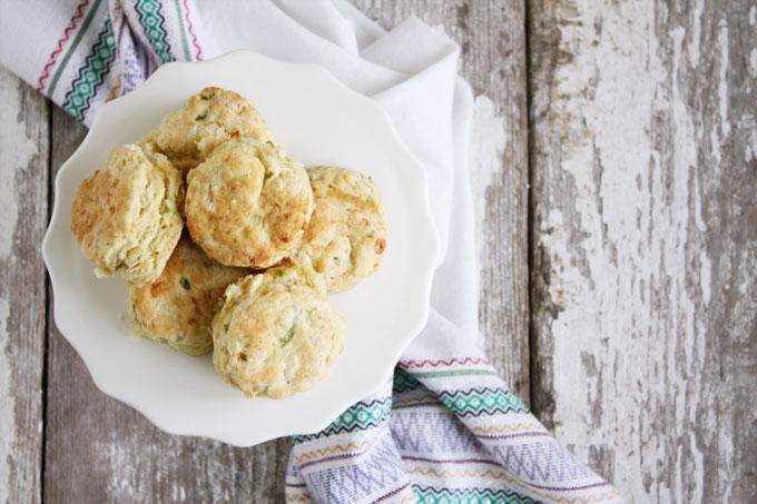 from scratch cheddar scallion buttermilk biscuits