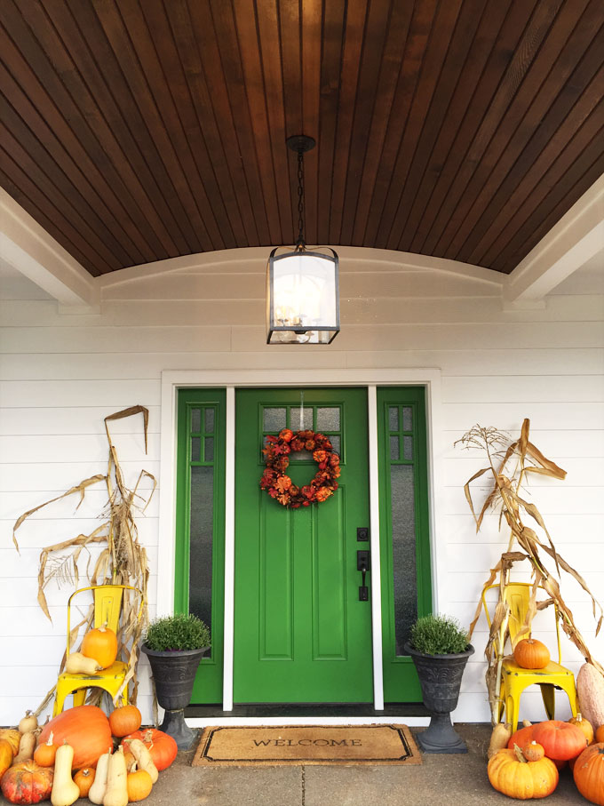 fabulous fall front porches