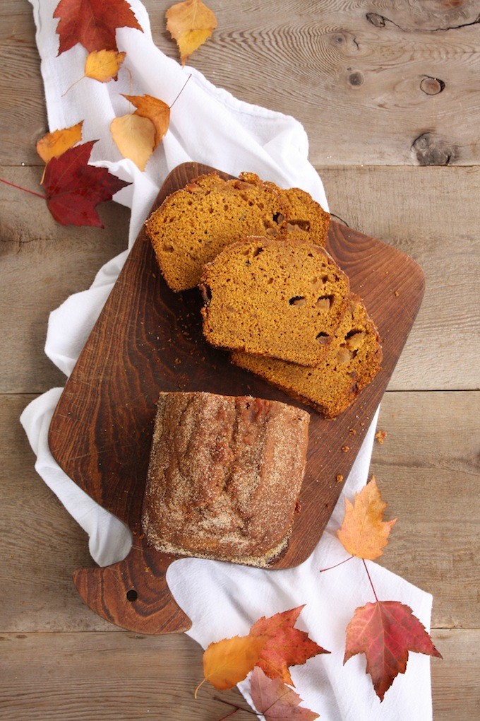 Spiced Apple Pumpkin Bread by Lulu the Baker