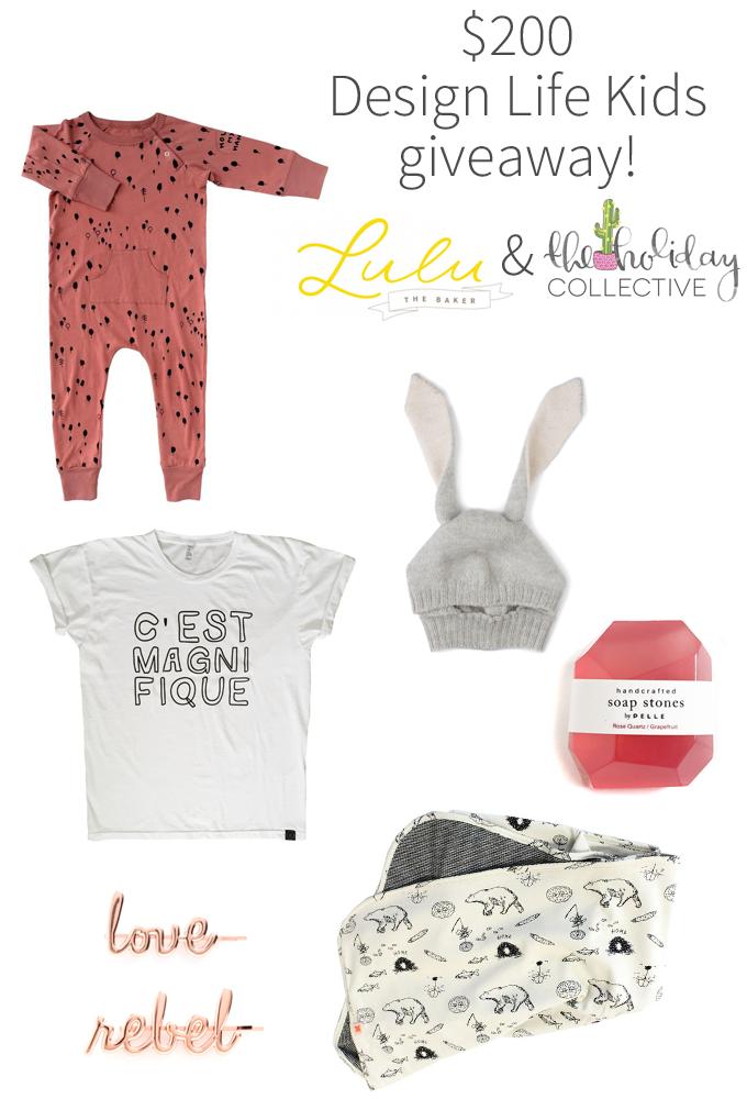 Win $200 to Design Life Kids on Lulu the Baker