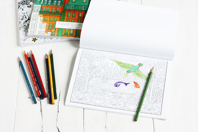 gifts for creatives: adult coloring books and prismacolor pencils