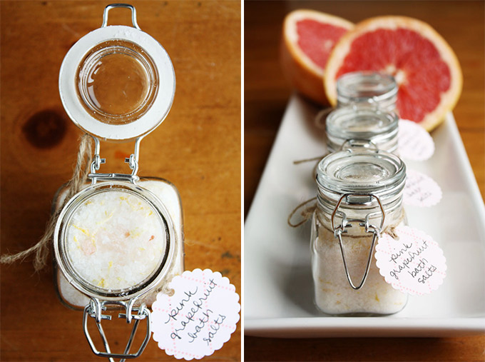 How to make your own fizzy bath salts