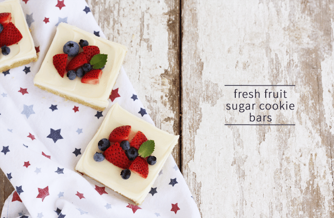 top ten posts of 2015 | fresh fruit sugar cookie bars