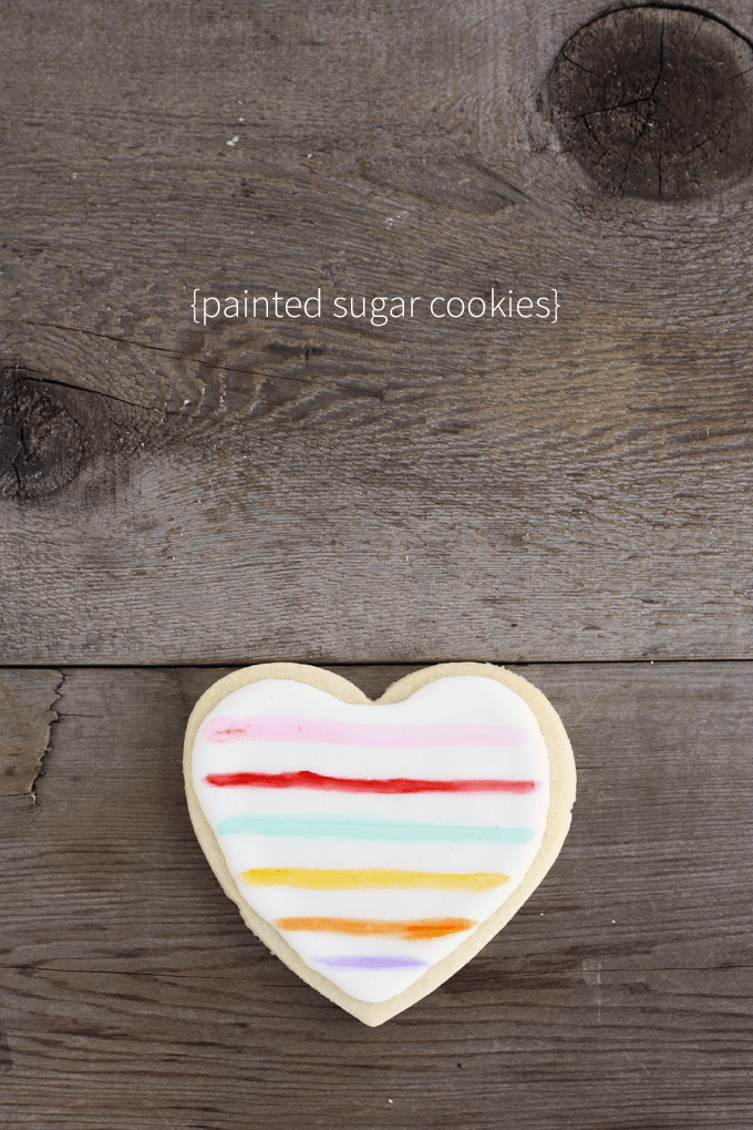 top 10 posts of 2015 | painted heart sugar cookies