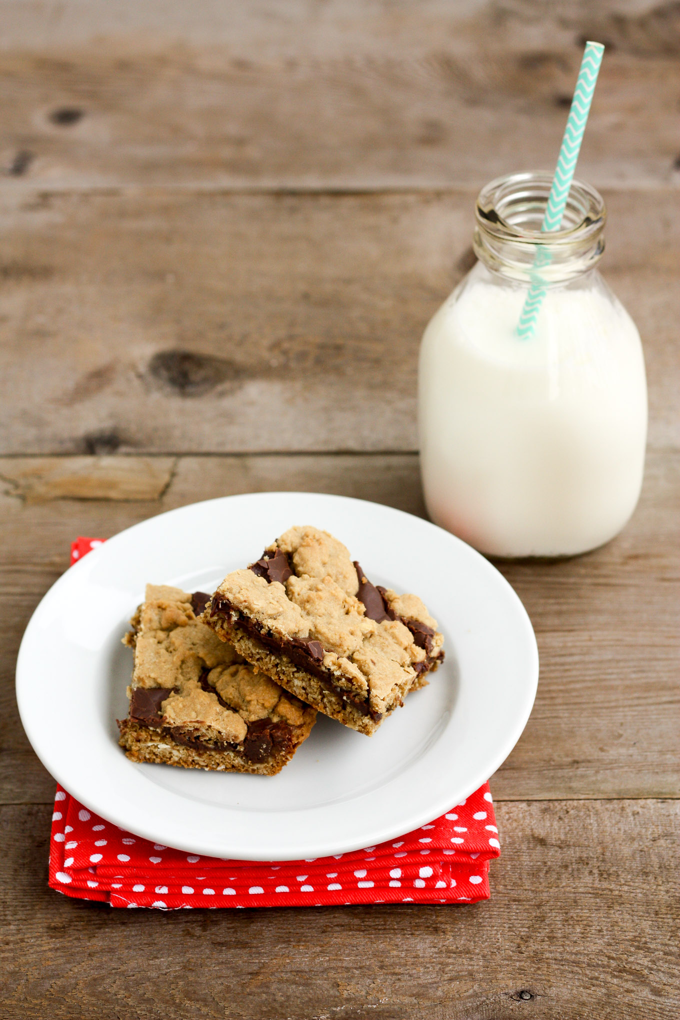 chocolate revel bar cookies | a buttery oatmeal cookie with a delicious chocolate fudge swirl